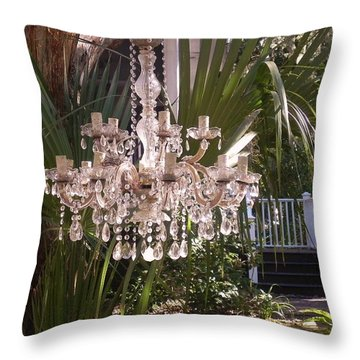 Throw Pillow featuring the photograph Only In Beaufort by Patricia Greer
