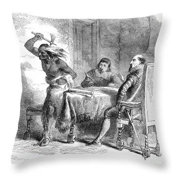 Opechancanough Throw Pillow by Granger