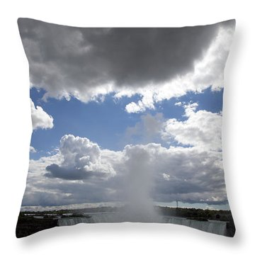 Opening Throw Pillow by Amanda Barcon