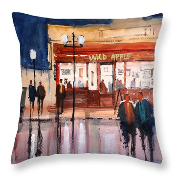 Opening Night Throw Pillow by Ryan Radke