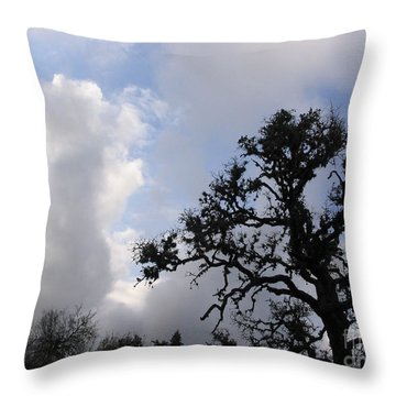 Throw Pillow featuring the photograph Opening Weekend by Mark Robbins