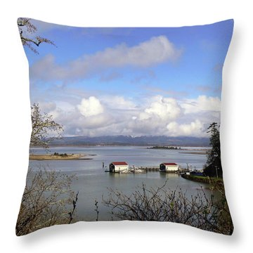 Operational Military  Throw Pillow by Pamela Patch