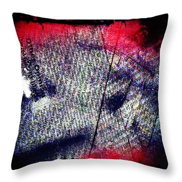Opinion Of Stain Throw Pillow by Jerry Cordeiro