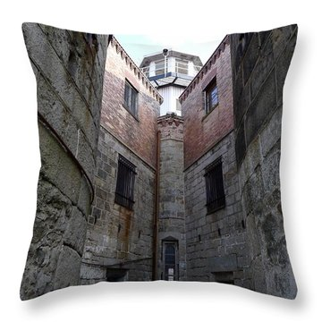 Oppression II Throw Pillow by Richard Reeve