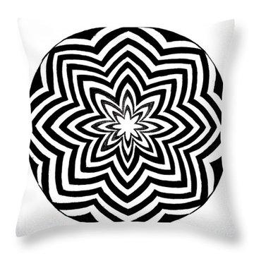 Opt Art 1 Throw Pillow