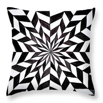 Opt Art 6 Throw Pillow
