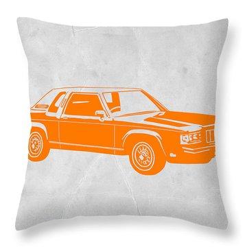 Muscle Car Throw Pillows