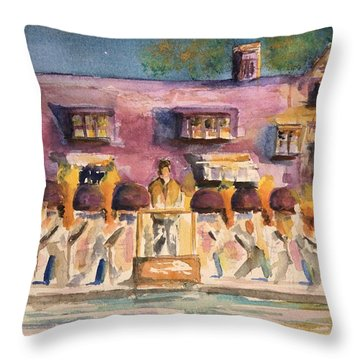 Orchestra Evening Gala At Ford House  Throw Pillow