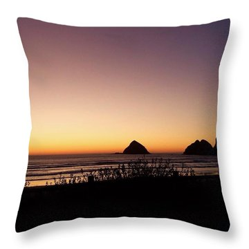 Oregon Coast 16 Throw Pillow