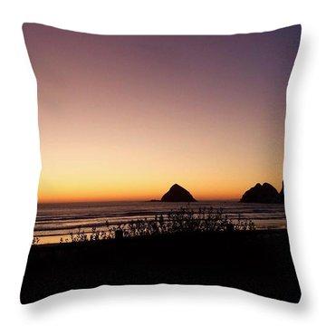 Oregon Coast 16 Throw Pillow