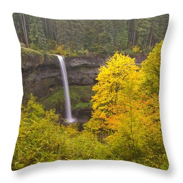 Oregon, United States Of America South Throw Pillow