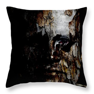 Organic Metamorphosis Throw Pillow by Christopher Gaston