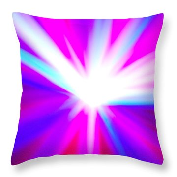 Origin Of Kosmos Limited Edition 1 Of 1 Throw Pillow