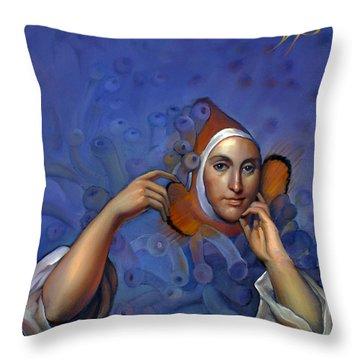 Original Finn Throw Pillow by Patrick Anthony Pierson