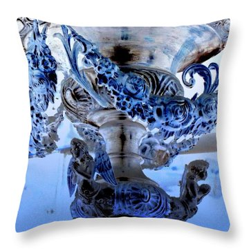 Ornate Throw Pillow by Randall Weidner
