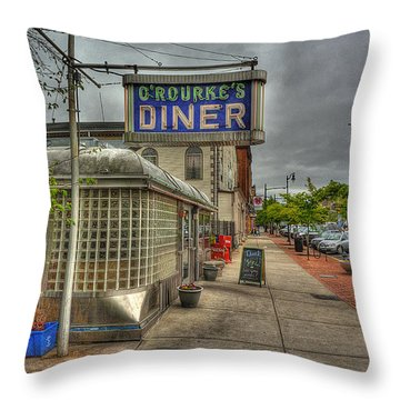 O'rourke's Throw Pillow by William Fields