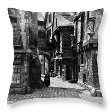 Orphans Of The Storm, 1922 Throw Pillow by Granger