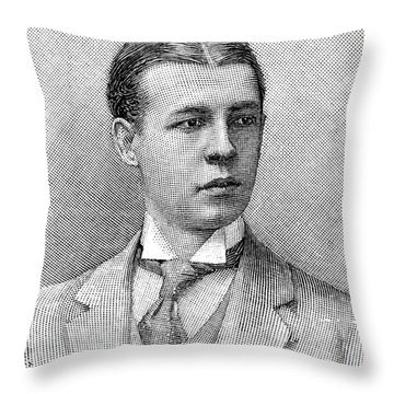 O.s. Campbell, 1891 Throw Pillow by Granger
