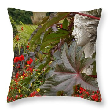 Osborne Lady Throw Pillow