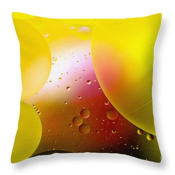 Other Worlds - D007924 Throw Pillow by Daniel Dempster