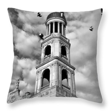 Our Lady Of Pompeii Church Throw Pillow