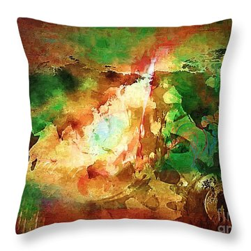Our Time. Throw Pillow by Marek Lutek