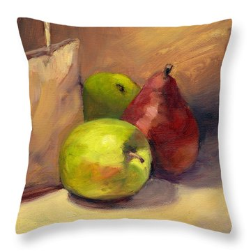 Out Of The Bag Throw Pillow