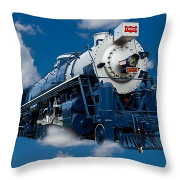 Out Of The Blue Throw Pillow by Doug Long