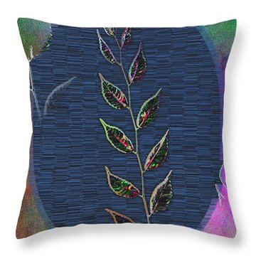 Out Of The Mist 4 Throw Pillow by Tim Allen