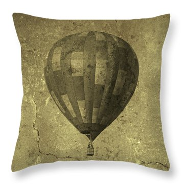 Out There Somewhere Throw Pillow by Betsy Knapp