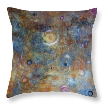 Outer Limits Throw Pillow