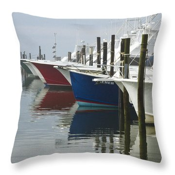 Outerbanks Morning Throw Pillow