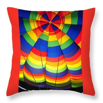 Outside Looking In Throw Pillow by Mike Martin