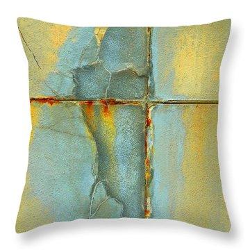 Overflow Throw Pillow by Marcia Lee Jones