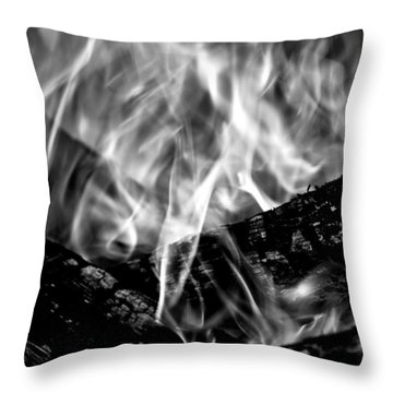 Overwhelmed Throw Pillow by Greg DeBeck