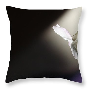 Throw Pillow featuring the photograph Oxalis Bloom by Kume Bryant