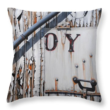 ...oy Throw Pillow