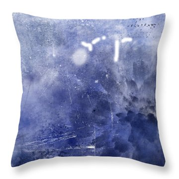 Pacific Bloom Throw Pillow by Christopher Gaston