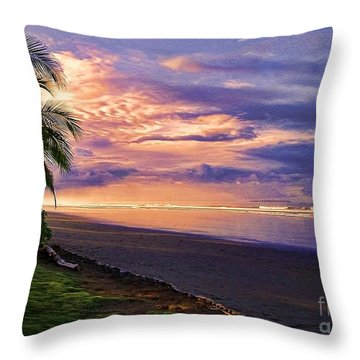 Pacific Sunrise Throw Pillow