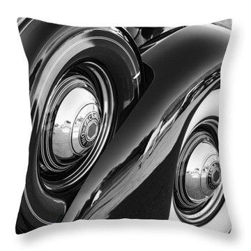 Packard One Twenty Throw Pillow by Gordon Dean II