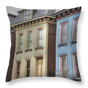 Painted Ladies Throw Pillow by Jane Linders