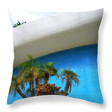 Palm Springs Modernism Throw Pillow