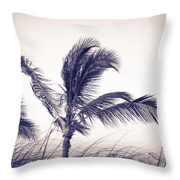 Palms 4 Throw Pillow