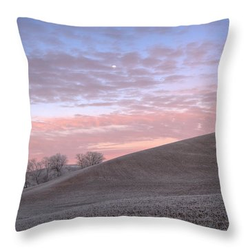 Palouse Dawn Throw Pillow