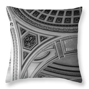 Pantheon Arches Throw Pillow by Sebastian Musial