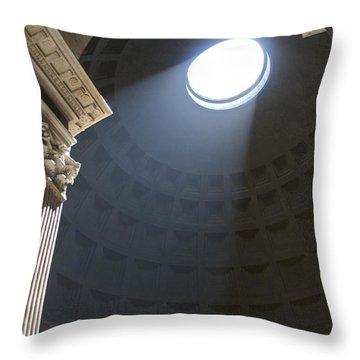 Pantheon. Rome Throw Pillow by Bernard Jaubert