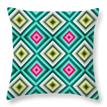 Paper Symmetry 2 Throw Pillow by Hakon Soreide