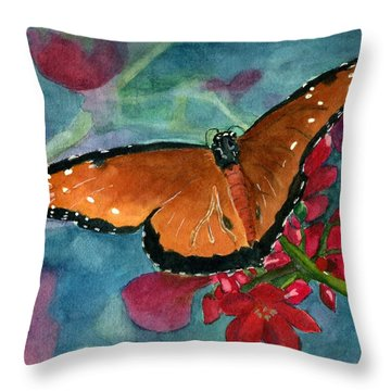 Papilio Fandango  Throw Pillow by Lynne Reichhart
