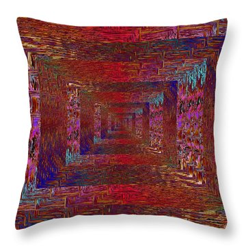 Paradigm Shift Throw Pillow by Tim Allen