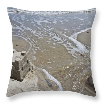 Paradise Lost And Found Throw Pillow